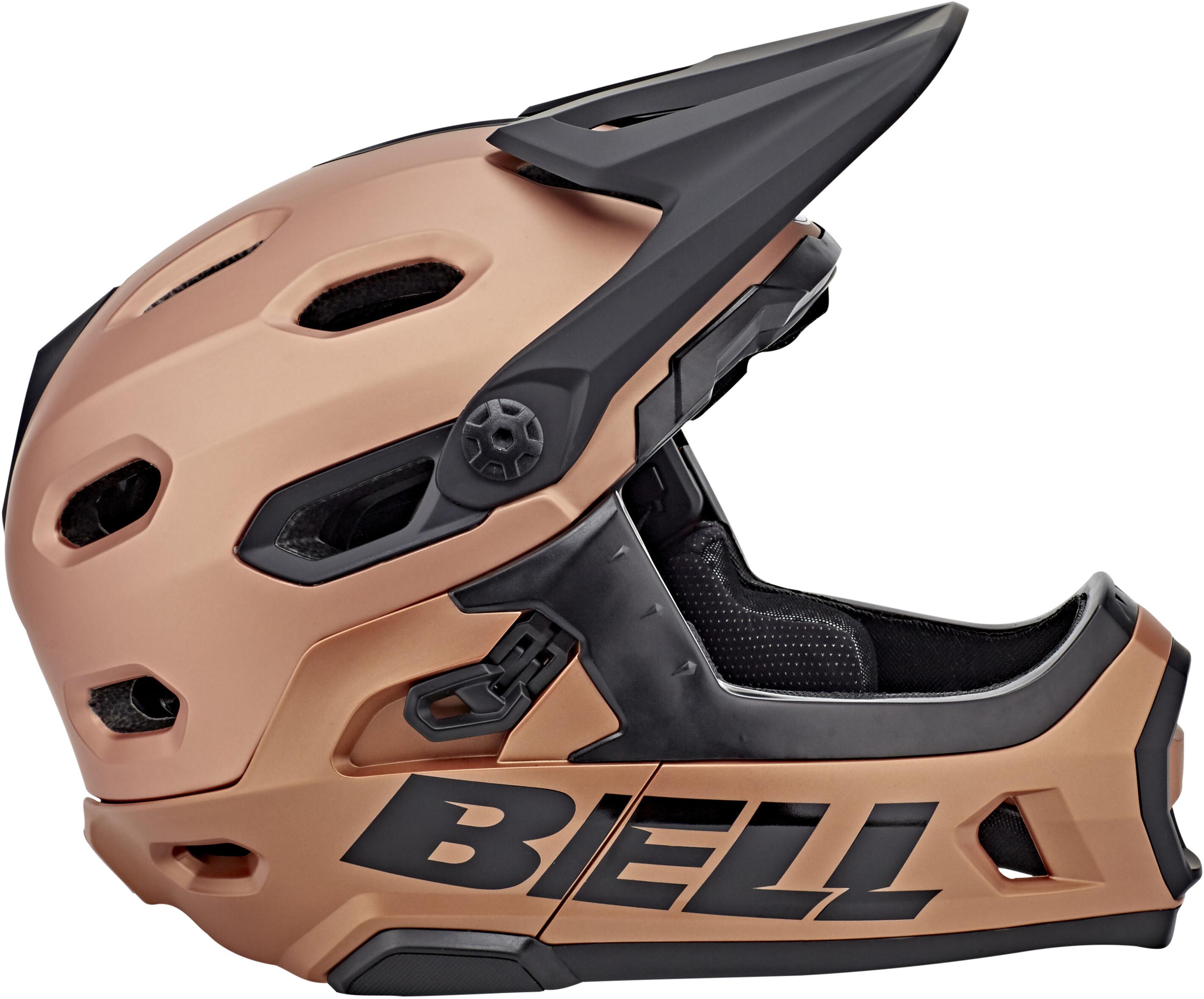 bell super dh mips mtb helmet matte gloss copper online. Black Bedroom Furniture Sets. Home Design Ideas